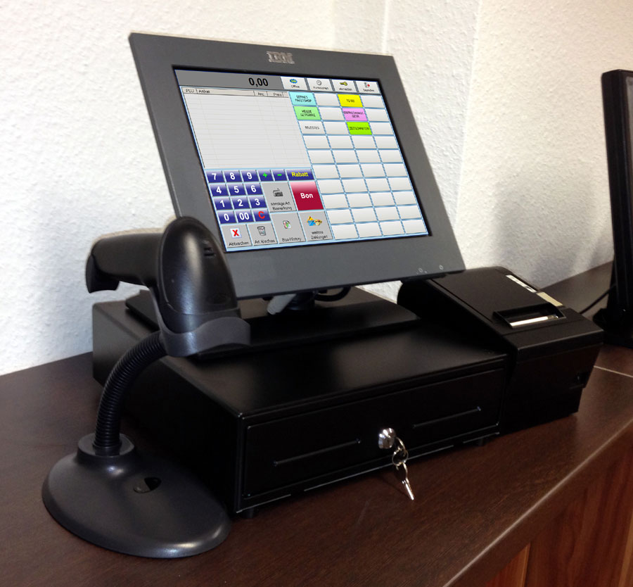 kassensystem mit touchscreen bondrucker software. Black Bedroom Furniture Sets. Home Design Ideas